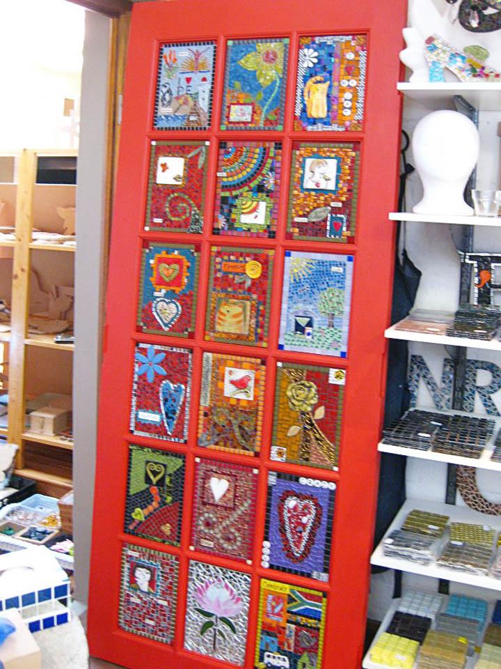 mosaic-door